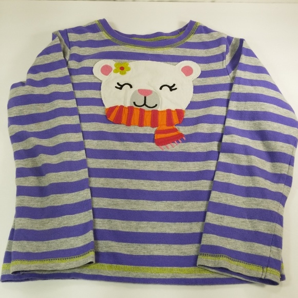 NWT Carter/'s Unicorn Tee Shirt Top Girls Long Sleeve Purple